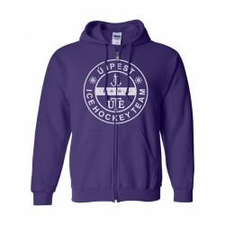UTE Logo kapucnis pulóver