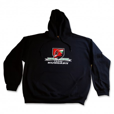 IHFU Team Hungary kapucnis pulóver