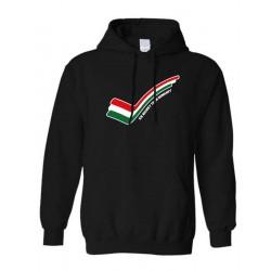 Válogatott kapucnis pulóver