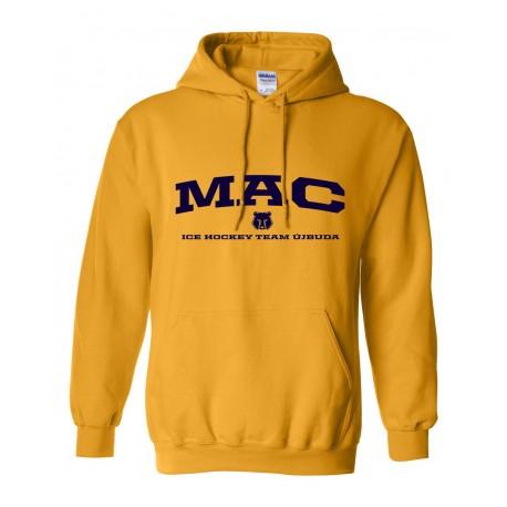 MAC Újbuda sárga kapucnis