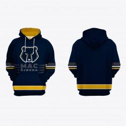 MAC egyedi kapucnis pulóver