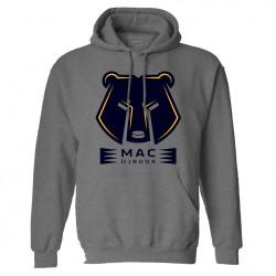 MAC Logo kapucnis pulóver