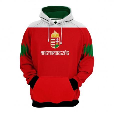 Magyarország - egyedi kapucnis pulóver